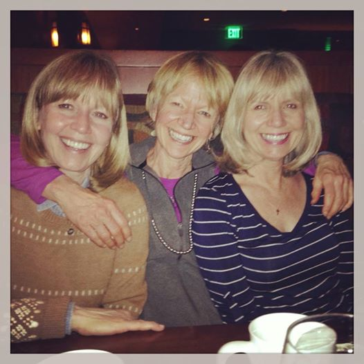 The Barker girls revel in each other's company, especially on birthdays.